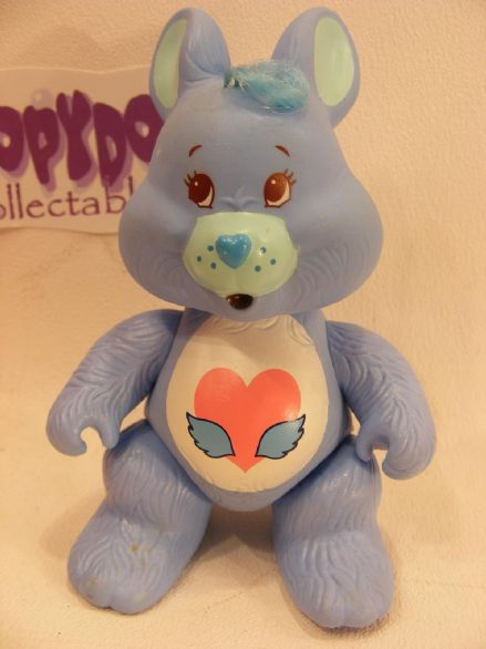 VINTAGE SWIFTHEART RABBIT CARE BEARS COUSIN POSEABLE